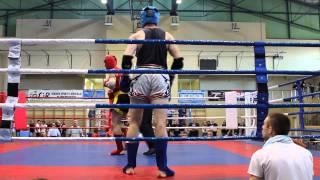 Marcin Tomczyk Gymnazion (blue) vs Warrior Łódź - 1 rd. półfinału MP 2014