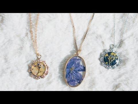 레진주얼리 연구작 기록_DIY Resin Jewelry Compilation