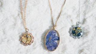 레진주얼리 연구작 기록DIY Resin Jewelry Compilation
