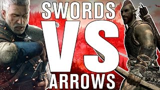 The SCIENCE! - Swords VS Arrows: Which should you be using?