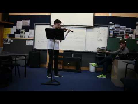 Mendelssohn Violin Concerto - Martin Riseley Masterclass 2017