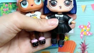 Куклы ЛОЛ. Как сделать РОЛИКИ для кукол. Мультик про кукол LOL SURPRISE. MC Family