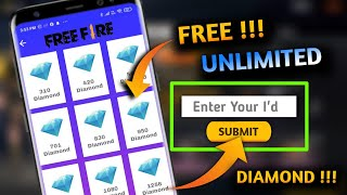 free fire me free me diamond kaise le    add daily Unlimited diamonds instant in free fire I'd screenshot 5