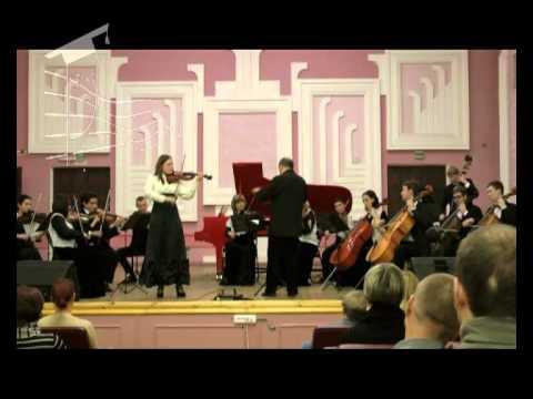 И.С. Бах - Концерт ля минор для скрипки 1 часть