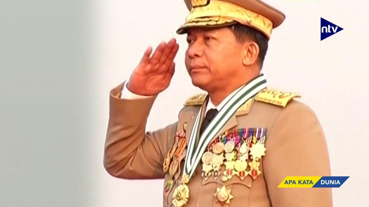 Ini Sosok Jenderal Gembong Kudeta Militer di Myanmar
