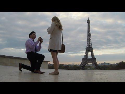 Surprise Paris Trip & Proposal