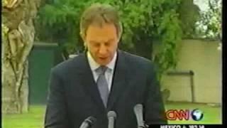 Omar Turbi, Libya Expert on CNN-Blair visits Libya-Part 1