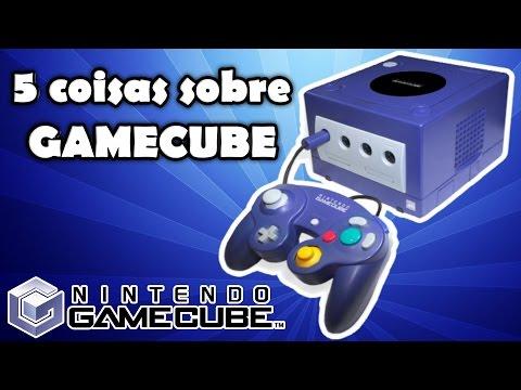 Curiosidades Nostalgicas do Game Cube console da Nintendo