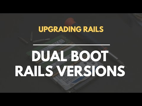 How to Dual Boot Rails Versions