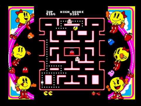 Namco Museum 64 - Ms. Pac-Man Sample (N64/Hardware)