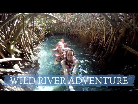 MEXICAN RIVER ADVENTURE // XCaret Mexico