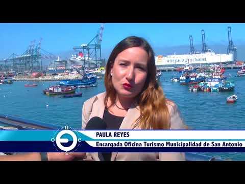 Con vigésima recalada de crucero San Antonio se consolida como Home Port de Chile