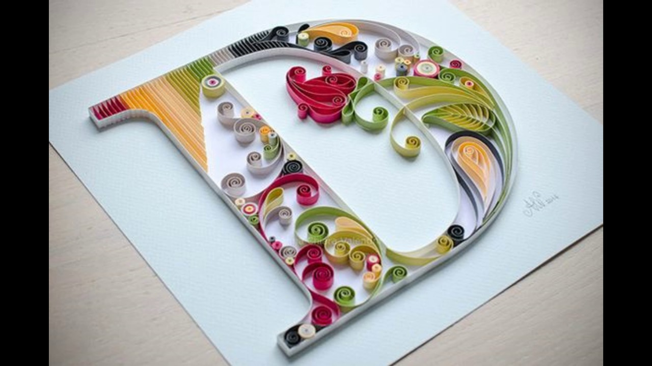 Types of letter d quilling youtube types of letter d quilling altavistaventures Gallery