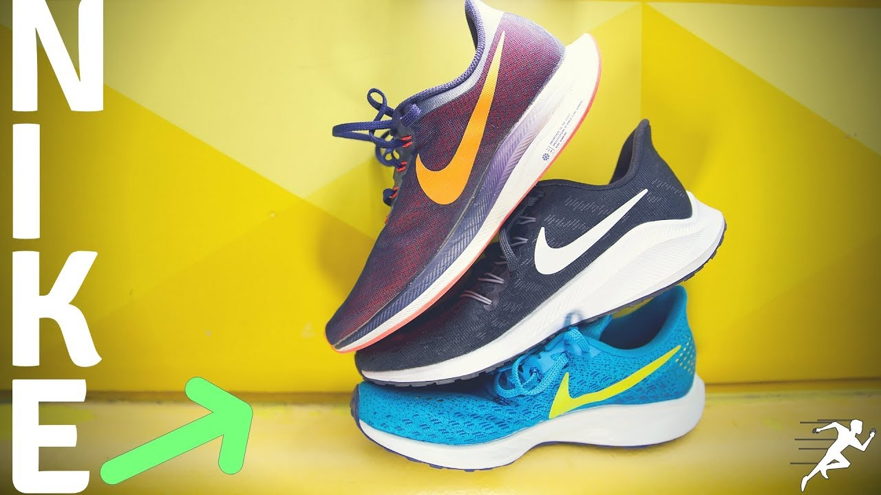 Complicado orquesta medio  Nike Vomero 14, Pegasus 35, or Turbo, which running shoe should you buy? -  YouTube