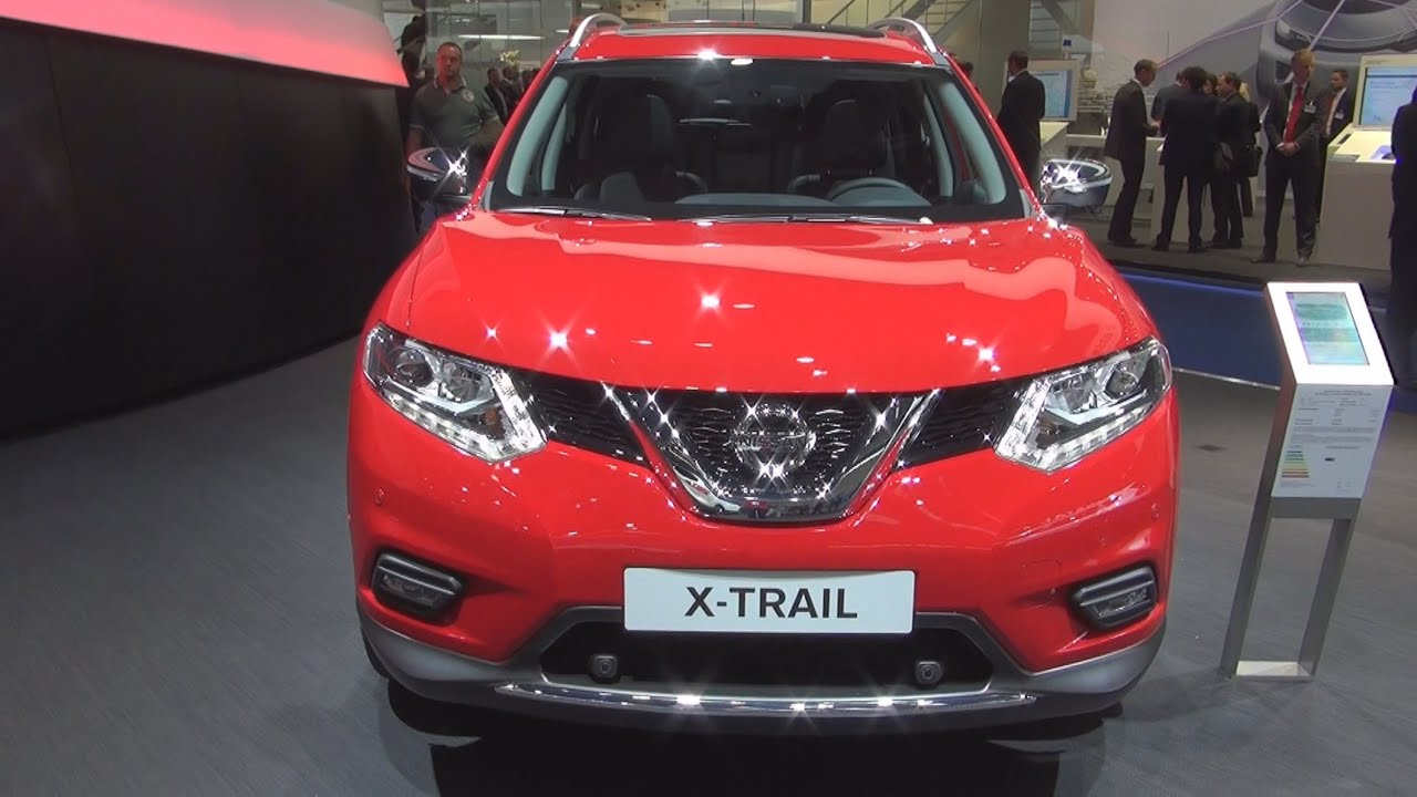 nissan x trail tekna 1 6 dci 2wd 96 kw 2016 exterior and. Black Bedroom Furniture Sets. Home Design Ideas