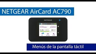 prueba de la pantalla tctil del MiFi NETGEAR AirCard AC790