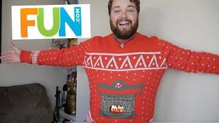 A Digital Christmas Sweater?! - Fun.Com Haul