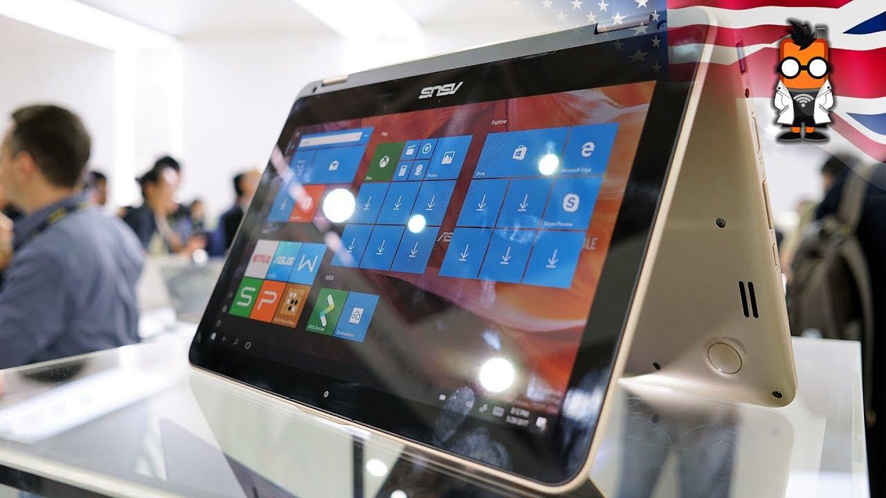 Asus Vivobook Flip 12 Hands On Youtube