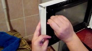 Заміна гачка двері мікрохвильовки