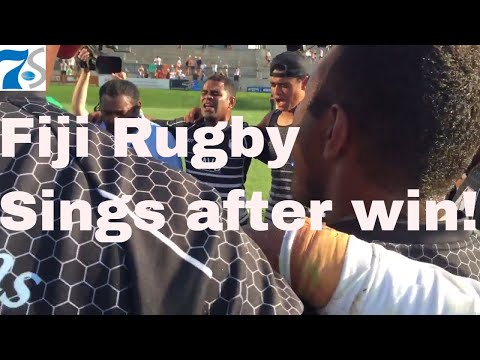 FIJI sings after Rugby Town Championship