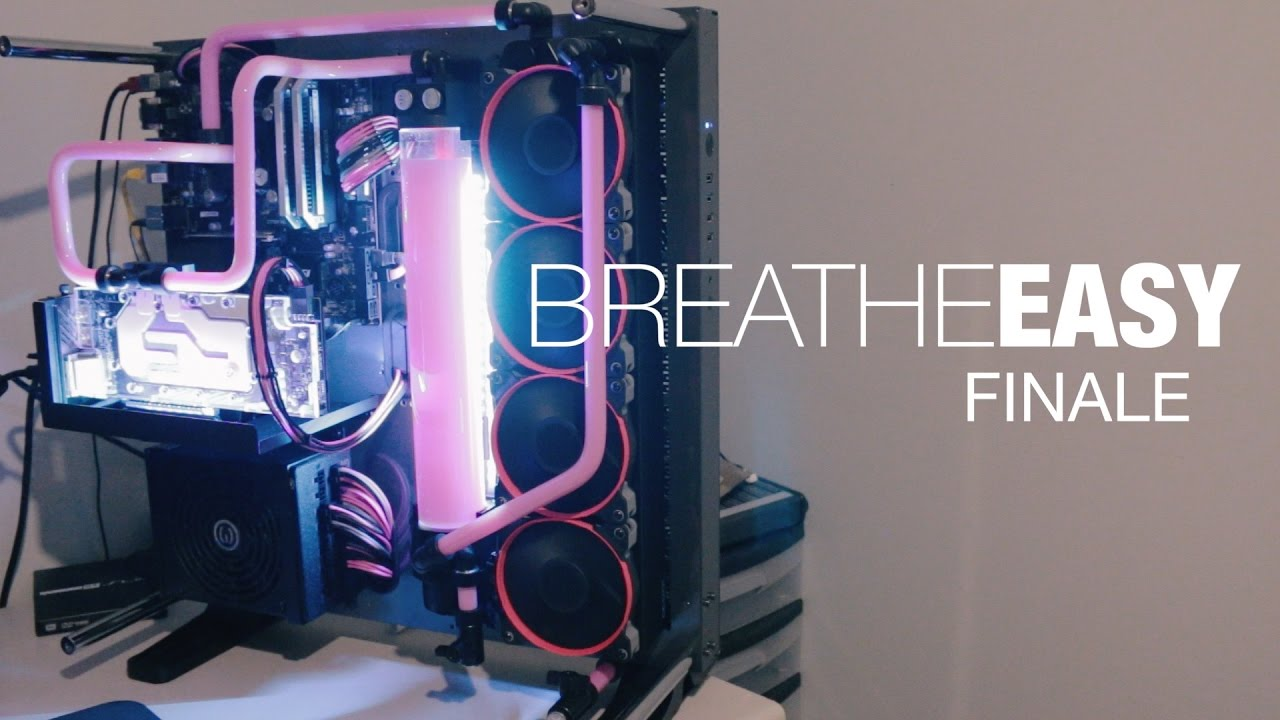 Breathe Easy Thermaltake Core P5 Build Finale Youtube