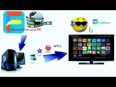 ForkPlayer, RemoteFork1.2.13 для PC, Виджеты для Samsung Smart TV