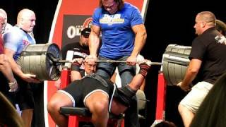 Glenn Russo Bombs With 1000 LB Bench Press!