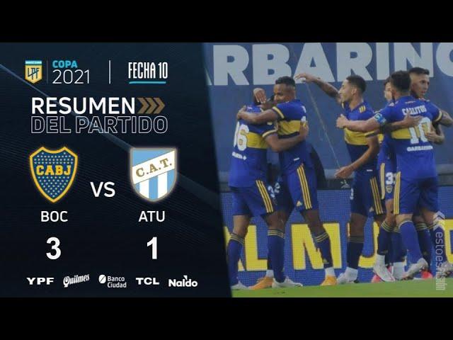 Copa De La Liga | Fecha 10 | resumen de Boca - Atlético Tucumán