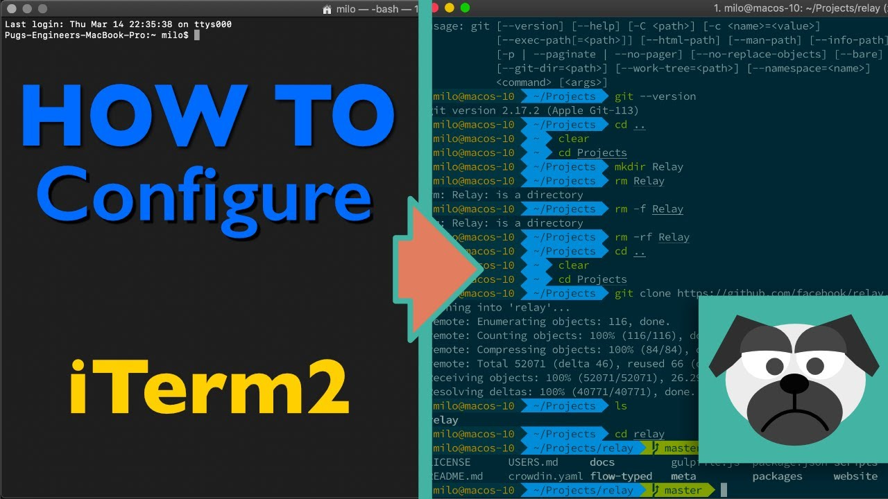 Configure Terminal with iTerm2, Oh My Zsh, Powerlevel9k theme & How to use!