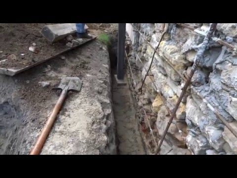 Ремонт фундамента и обвязка цоколя дома