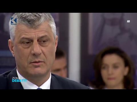 Zona e Debatit - Hashim Thaçi - 02.03.2017 - Klan Kosova