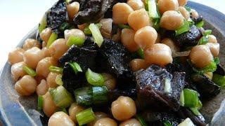Сытный постный салат с лесными грибами👍Постные салаты рецепты.Salad