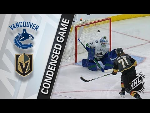 Vancouver Canucks vs Vegas Golden Knights – Feb. 23, 2018 | Game Highlights | NHL 2017/18. Обзор