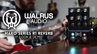 Walrus Audio Mako Series R1 Reverb - 1st Look & Demo