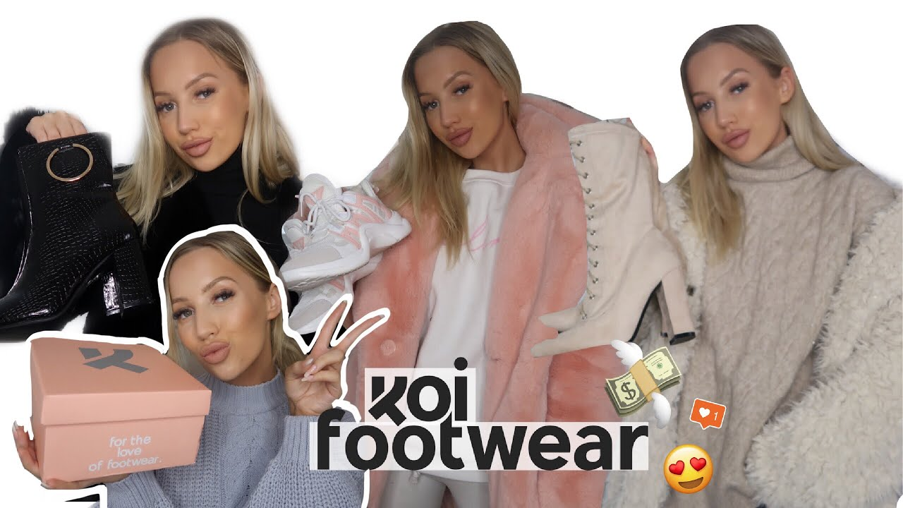 [VIDEO] - WINTER OUTFIT IDEAS / BOOTS & SHOES HAUL | KOI FOOTWEAR | AD 7