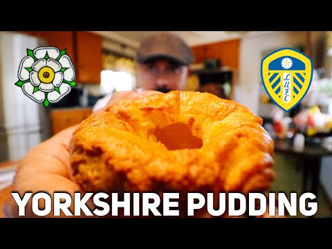 U.S. Marine Makes Yorkshire Pudding For The First Time (learns About Yorkshire)