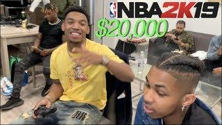 $20,000 NBA 2K19 GAME DDG EXPOSED !!!