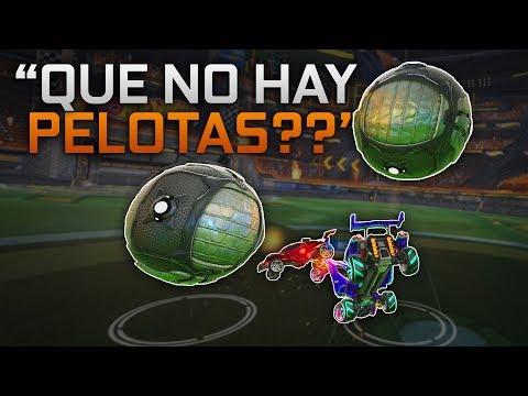 Con dos PELOTAS! | Retos en Rocket League thumbnail