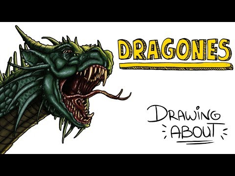 DRAGONES 🐉 🔥🔥🔥 | Drawing About