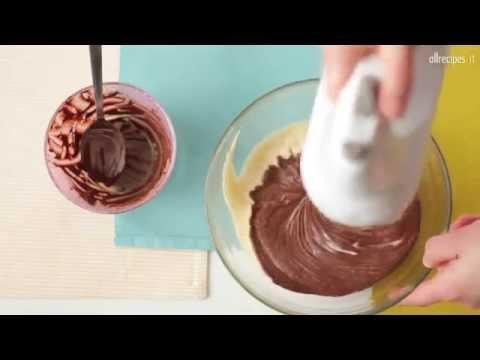 Cupcakes con la vaniglia e il cioccolato