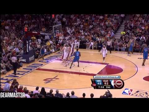 Rashard Lewis and Hedo Turkoglu vs Cavaliers Full Highlights (2009 ECF GM2) (2009.05.22)