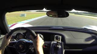 Behind the wheel of the 918 Spyder