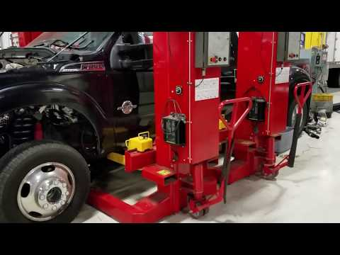 Powerstroke cab removal w/mobile columns