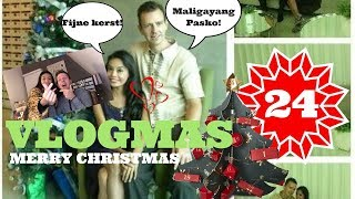 🎄Vlogmas Day 24 MERRY CHRISTMAS & THANK YOU! 💋 | Jeroen & Kyn