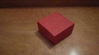 Origami Masu Box Tutorial