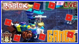 ROBLOX LIVE STREAM -LET'S PLAY GAMES YOU PICK! CHILL!! #140
