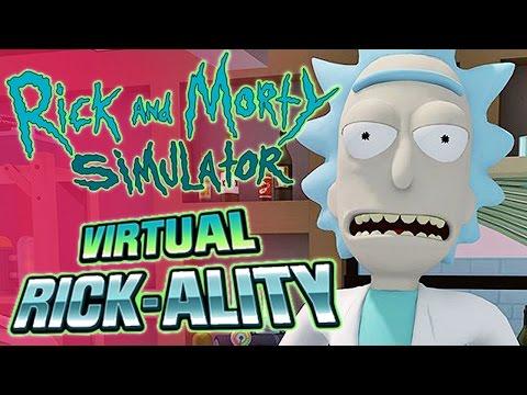Rick and Morty VR - Virtual Rickality #1