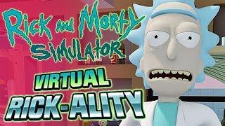 rick and morty vr virtual rickality 1