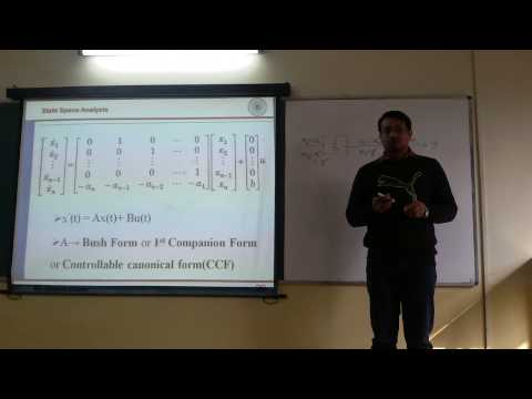 MCS-4: State Space Model from Transfer Function