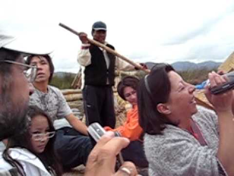 Song by the Uros people of Lake Titicaca
